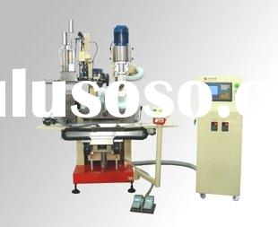 ZLCNC-E300 4-Axis & 2-Head Brush Drilling/Tufting Machine for round shape brush