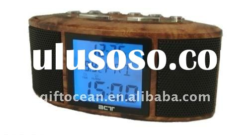 alarm control radio digital calendar clock MP3 player
