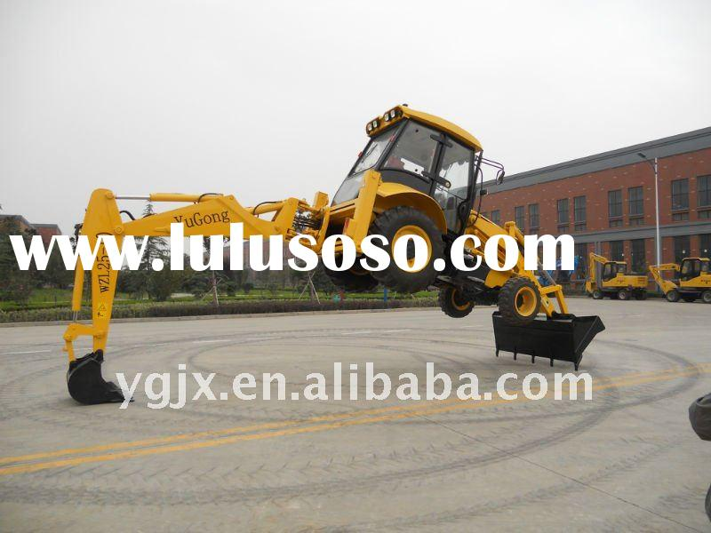 amphibious excavator,similar to JCB mini,yellow,new 7ton backhoe loader with low price for digging a