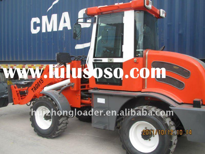 articulated muck loader ZL15F with CE,EURO III engine,joystick