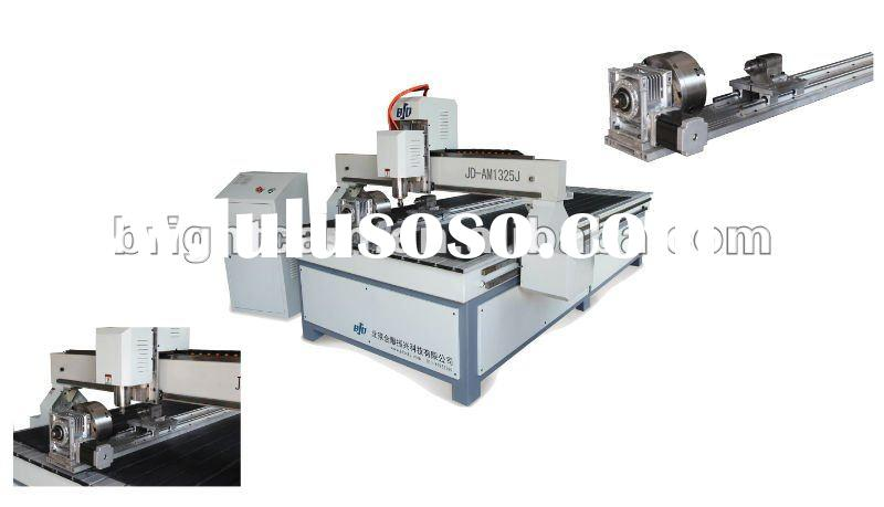 best 4-axis cylinder 1325 wood cnc router widely used