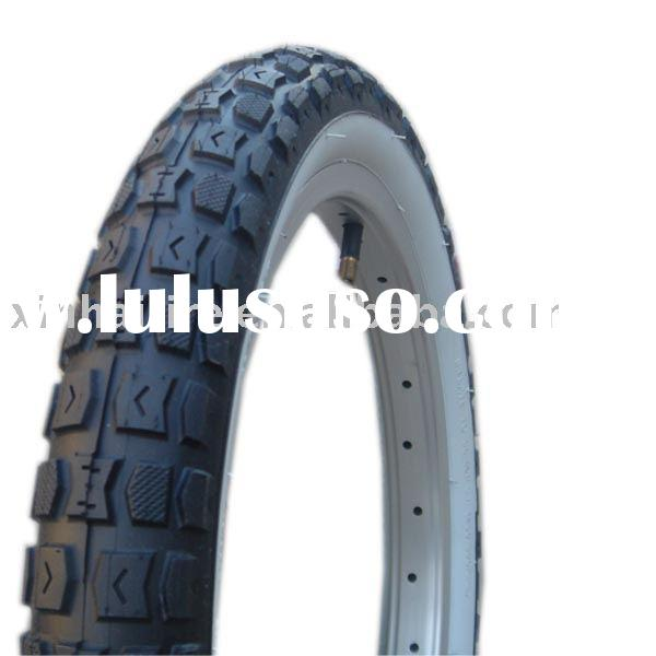 bicycle tyre with tube