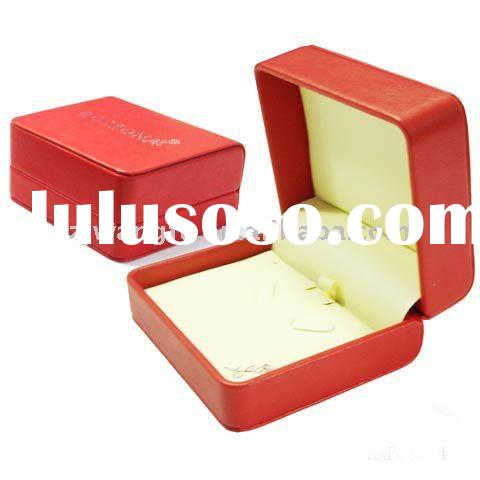 cheap faux leather jewelry box