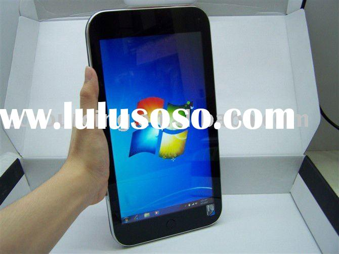 cheap windows 7 tablet with 10.2 inch capacitive screen notebook computer