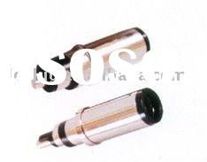 copper, ABS plastic, nickel plated, OD 7.4mm, ID 5.0mm, 7406 laptop female dc jack socket, dc power