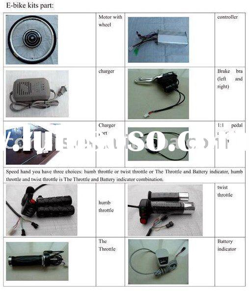 electric bicycle kits,DIY yourself e-bike,e-bike conversion kit