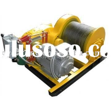 electric hoist winch for lifting and pulling in construction site