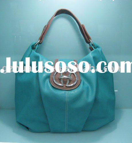 fake leather handbag / tote bag