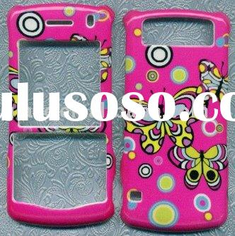 for BLACKBERRY PEARL 8110 8120 8130 RUBBER COVER HARD CASE SKIN BUTTERFLY