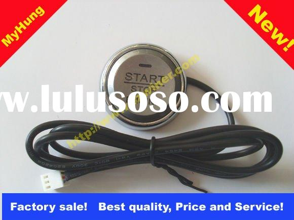 hot sale car alarm + engine push start button