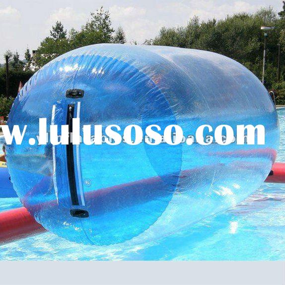 inflatable roller ball in pool
