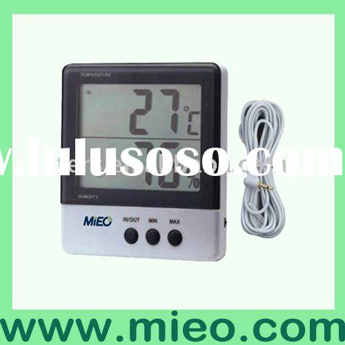 large screen digital thermometer hygrometer (HH620)