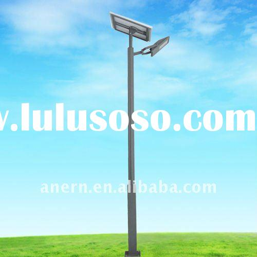 low cost solar street lights project
