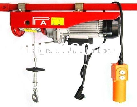 made in china 220v 60hz 1T*20M mini electric hoist