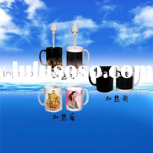 magic coated photo mug-Chiristmas gifts/crafts