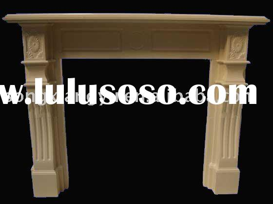 marble fireplace hearth/fireplace mantle designs