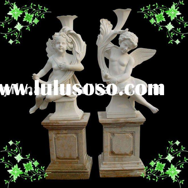 marble sculpture of lovely little angel (YL-R104)