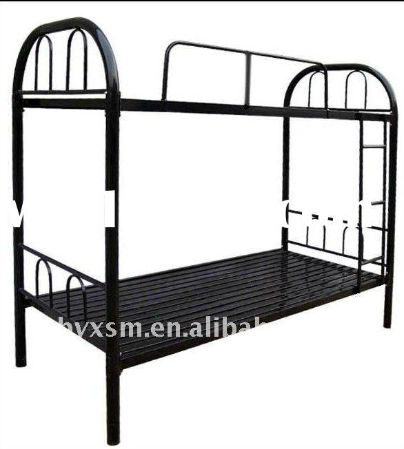 metal double bunk bed for sale price china manufacturer