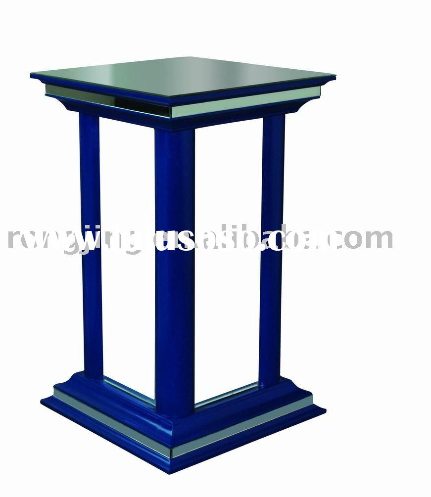 mirror plant stands,besides table,glass furniture,square furniture