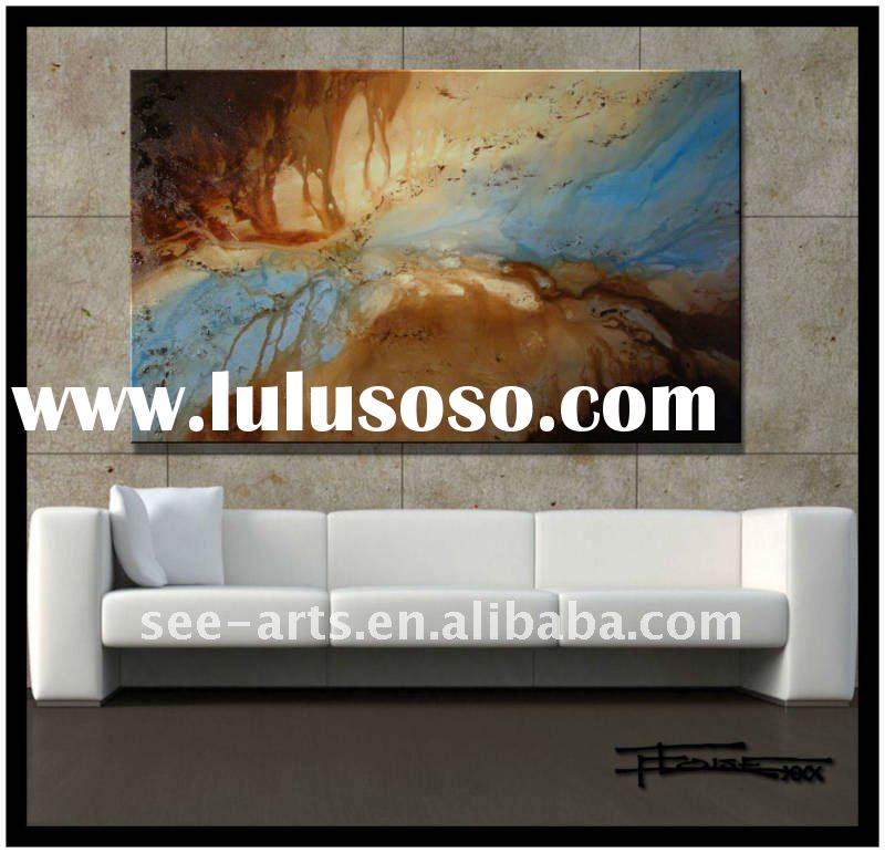 modern abstract canvas art in modern design