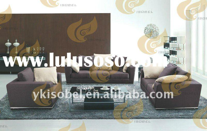 modern elegant fabric sofa set YK2905