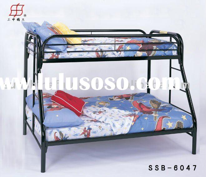 mordern commercial metal double deck bunk bed