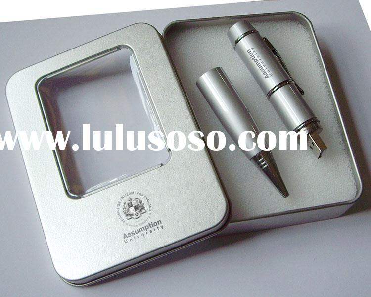 pen drive(packaged in tin box),pen disk,holiday gifts,usb flash memory