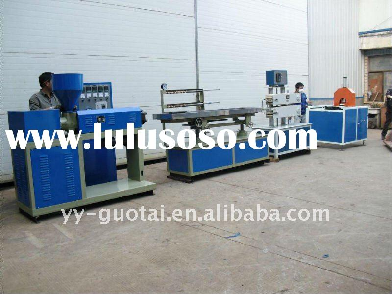 pvc window and door profile production line/profile extruding machine