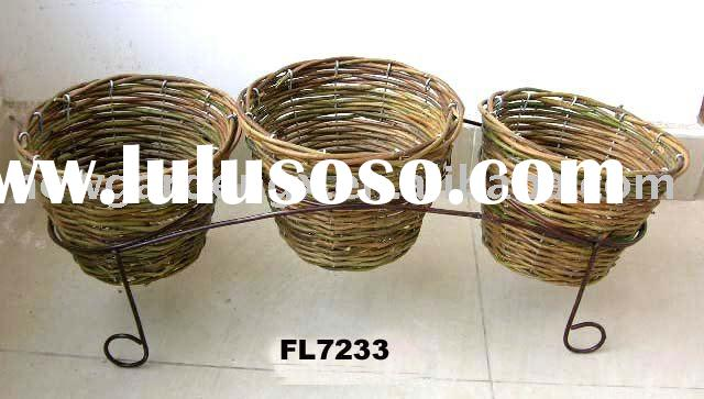 rattan planter,rattan flower pot,plant pot,patio pot,wicker planter,flower planter,rattan basket,wic