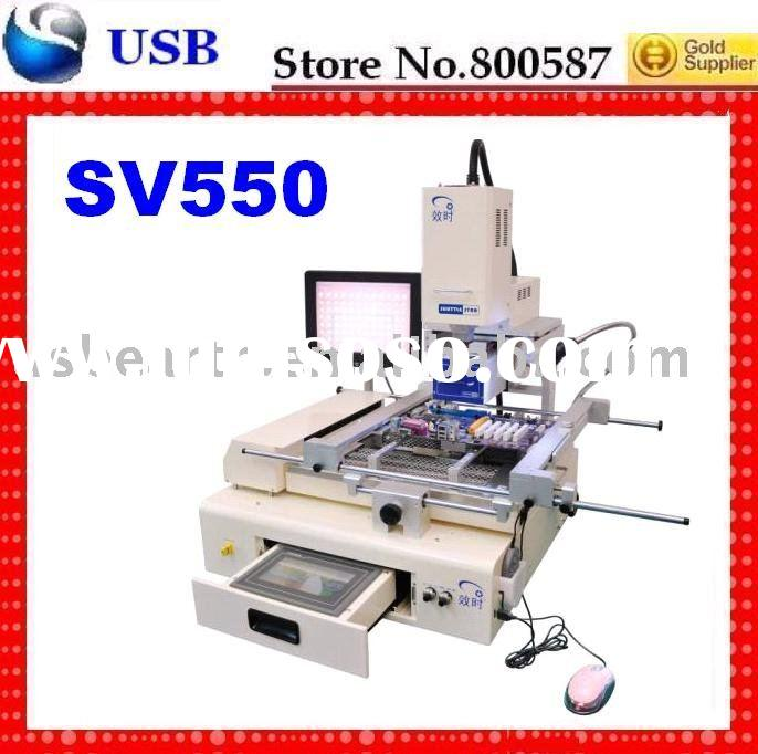 semi-auto BGA Rework Station RW-SV550,shuttle stat bga rework station,SV550, with ccd system; shippi