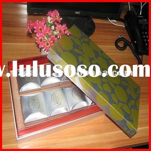 tea packing box +inner tray +paper bags