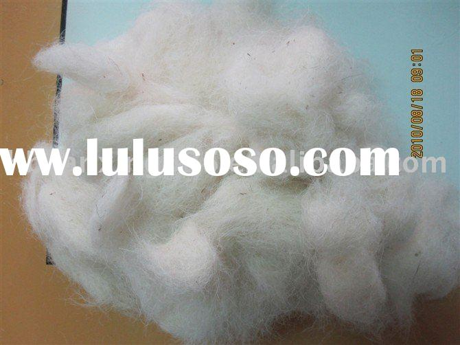 textile waste , wool top waste