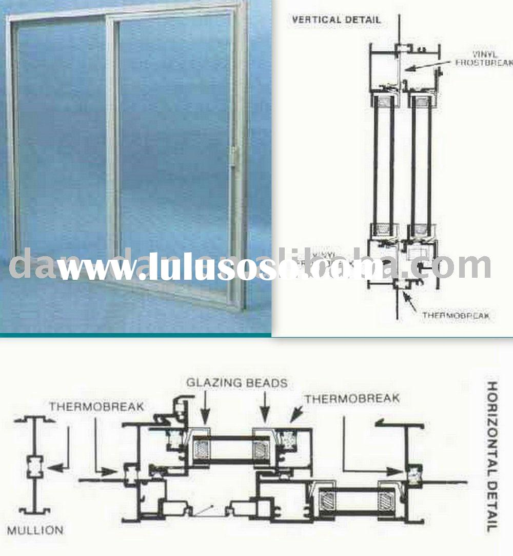 Single hung tilt window for sale price china for Thermal windows prices