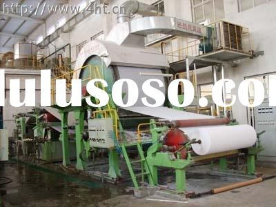 tissue paper production machine/waste paper recycling machine