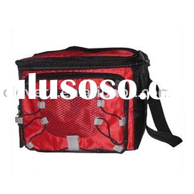 trendy design lunch cooler bag with handle strap