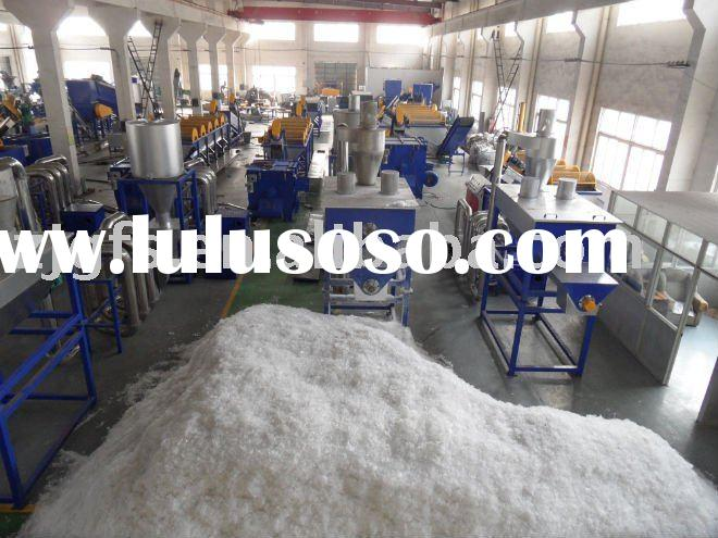 used waste plastic recycling machine