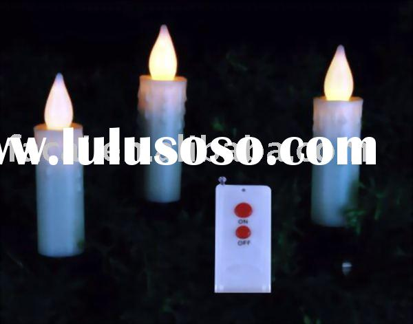 wireless remote candle light