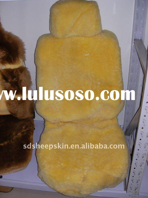 100% Natural Sheepskin Seat Covers