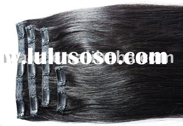 100%human hair extension