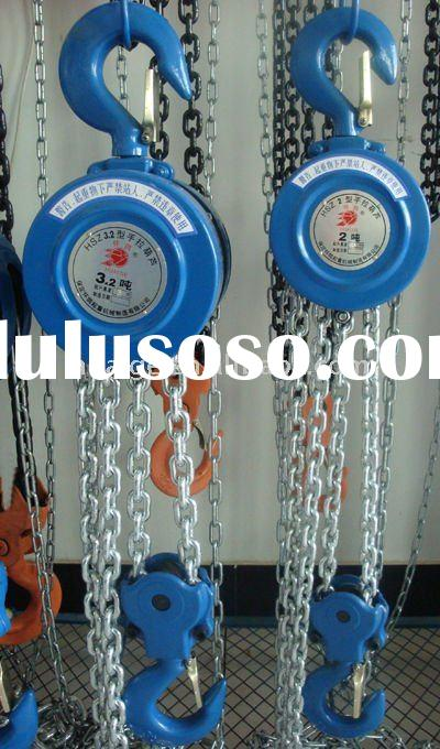 10T*5M HSZ-A manual chain pulley block