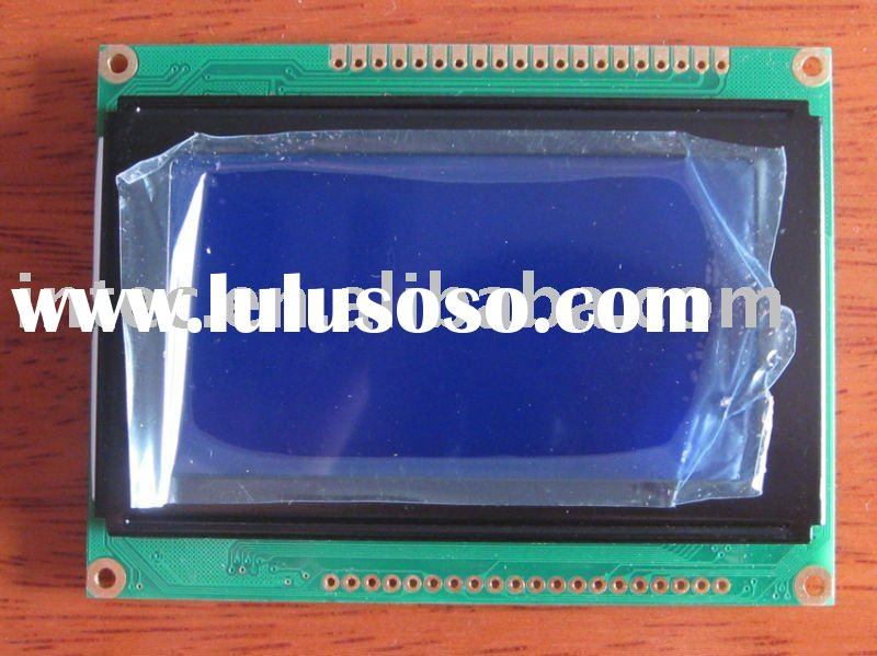 128X64 Graphic LCD Module blue backlight ks0108 Controller
