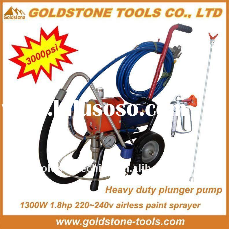 1300W, 3000psi airless paint sprayer electric airless paint sprayer paint sprayer airless (plunger p