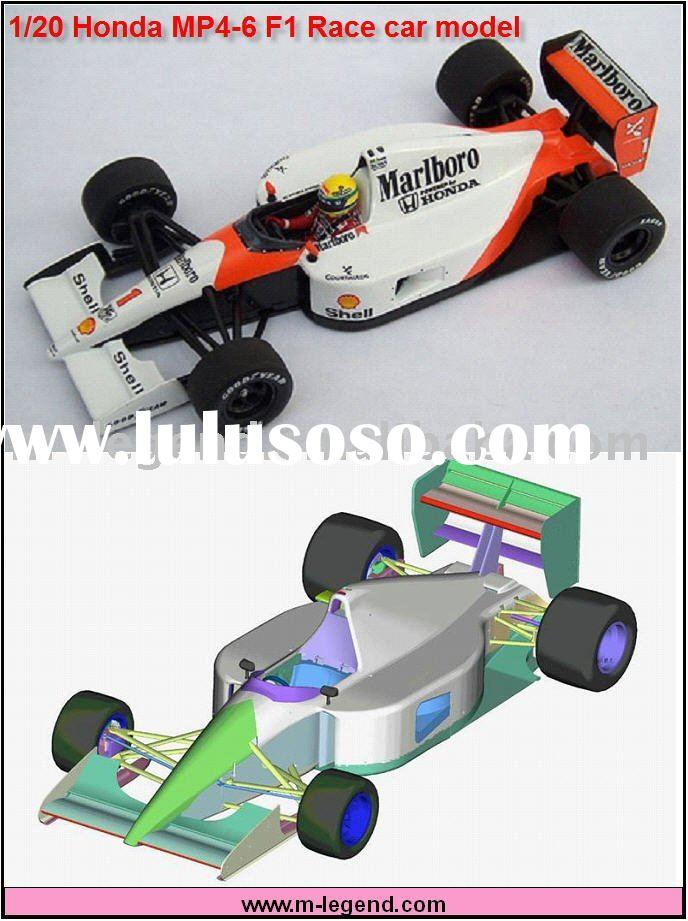 1/24 scale F1 MP4-6 plastic model car kit