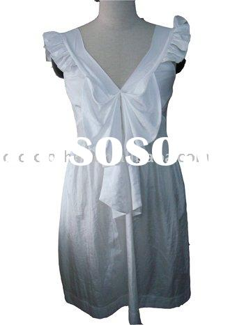 2010 newest Casual Ladies Dress,Fashion Cotton Dresses,Ladies Dress Manufacturers