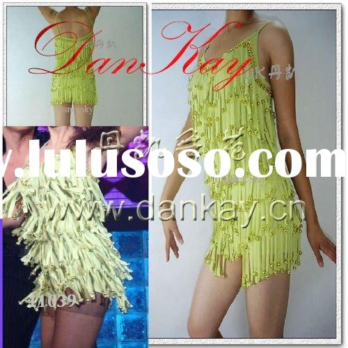 2011 Ballroom/Rumba/Salsa/Latin Dance Dress, Ladies' Dancewears, Dancing Costumes (11039)