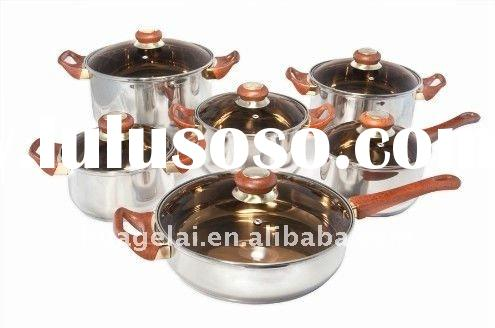 2011 HOT-IN SALES 18/10 Stainless Steel Cookware Set