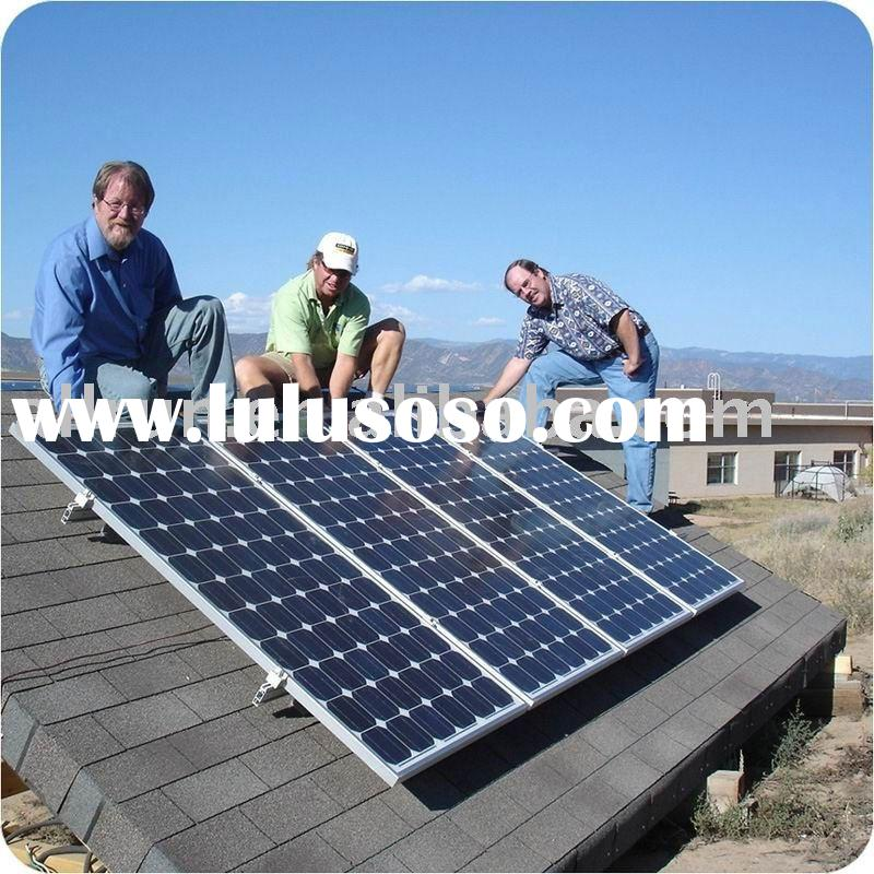 2011 NEW DESIGN HIGH EFFICIENCY HOME USING 1KW SOLAR PANEL SYSTEM
