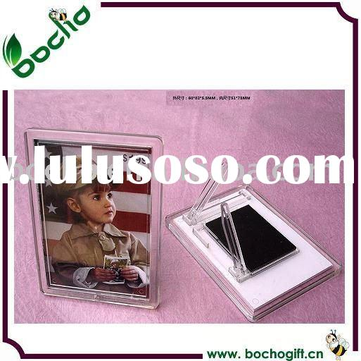 2011 acrylic fridge magnet photo frame