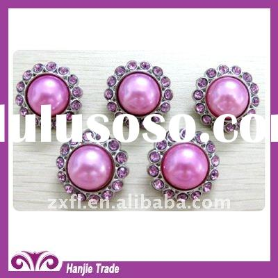 2011 hot sale acrylic rhinestone button