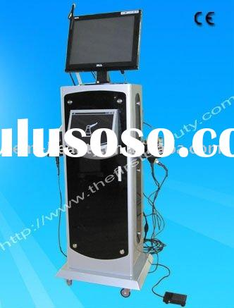 2011 hot sale factory supply portable vacuum+ultrasonic+Radio frequency+LED light 3 in 1 Ultrasonic